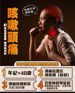 咳嗽頭痛|林志豪醫師